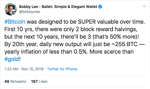 Bobby Lee refers to crypto bitcoin's halving in his gold flipping prediction
