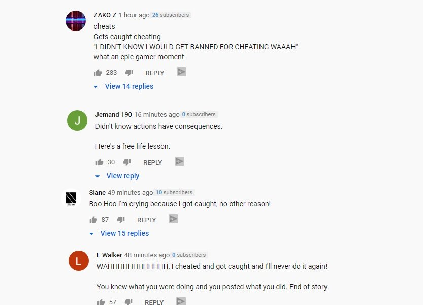 FaZe Jarvis FortNite Apology - YouTube Comments