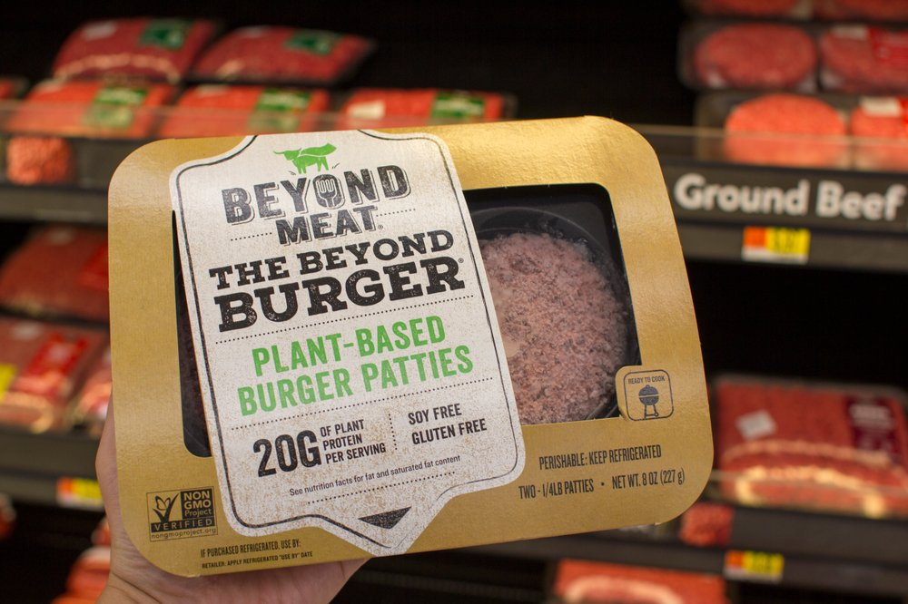 beyond meat stock
