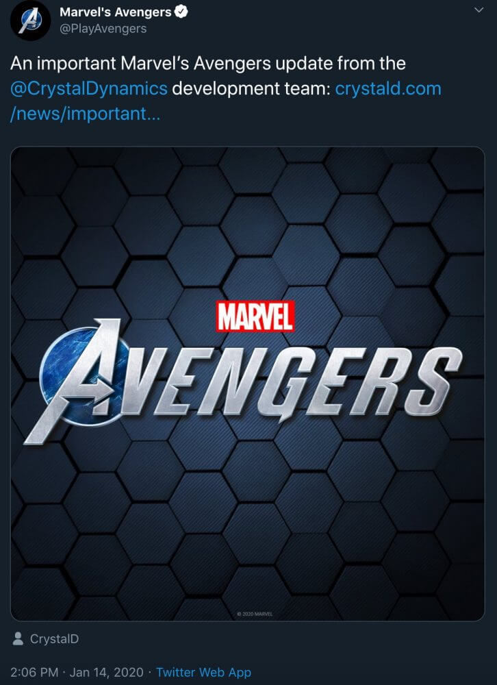 Marvel's Avengers Delayed to Sept. to Allow for Additional Polish