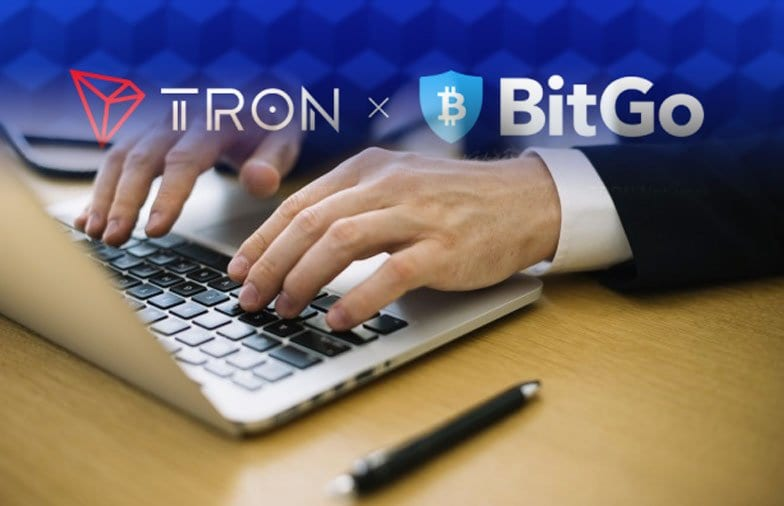 TRON Partners With BitGo To Mint New Wrapped Bitcoin And Ethereum Tokens On Its Blockchain